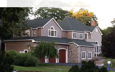 Custom built home in Waterford CT