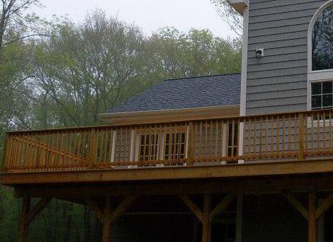 new outdoor deck