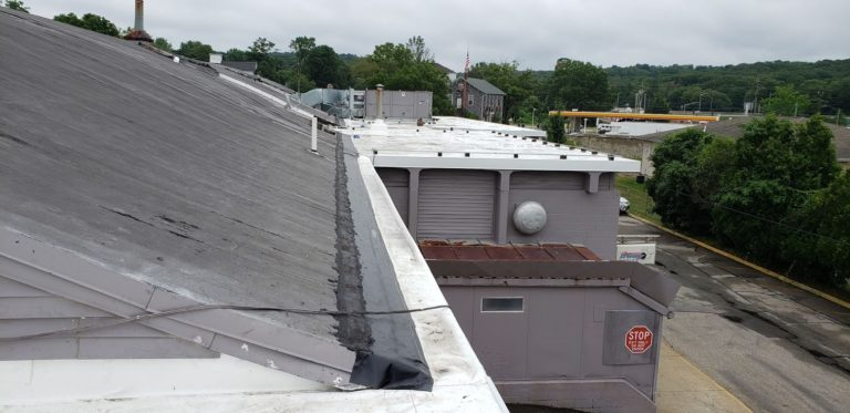 Norwich Connecticut New Commercial Flat Roof