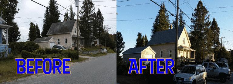 Norwich Connecticut New Asphalt Roof Replacement