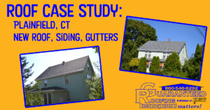 Plainfield Connecticut New Roof Replacement