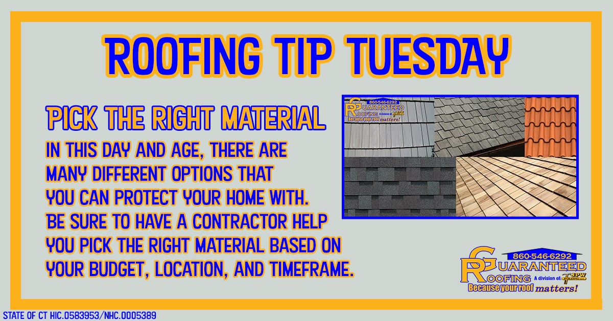 ct roofing material