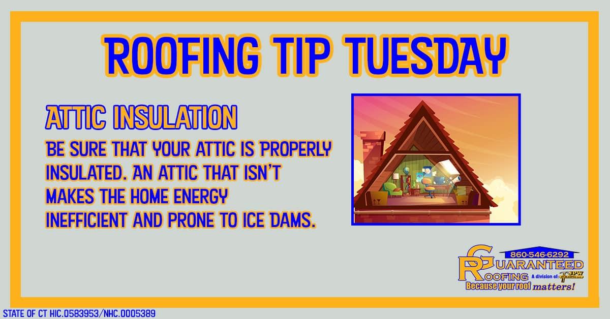 ct roofer insulate attic