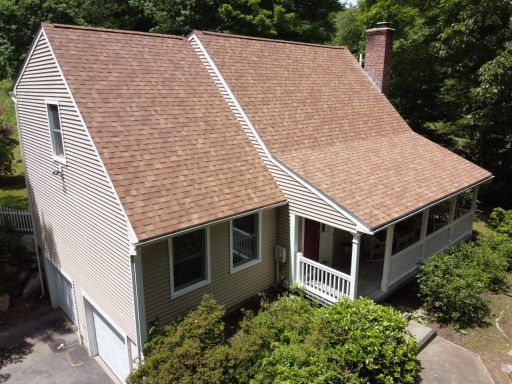 Owen's Cornering - Desert Tan Shingle in Sprague CT