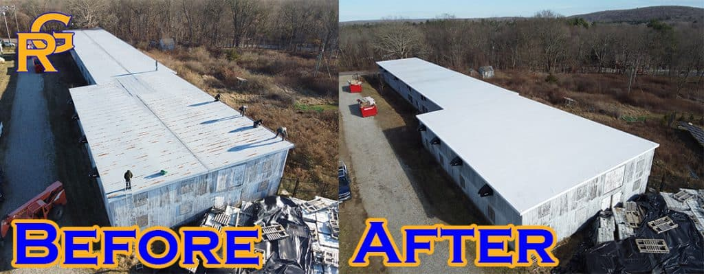 Lebanon CT Commercial Roof Replacement