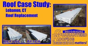 Lebanon CT Commercial Roofer