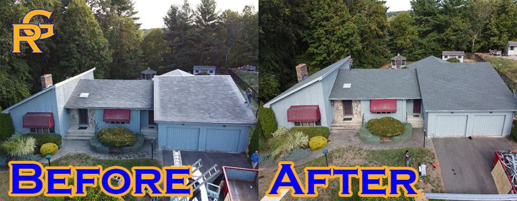 Manchester CT Roof Replacement 1